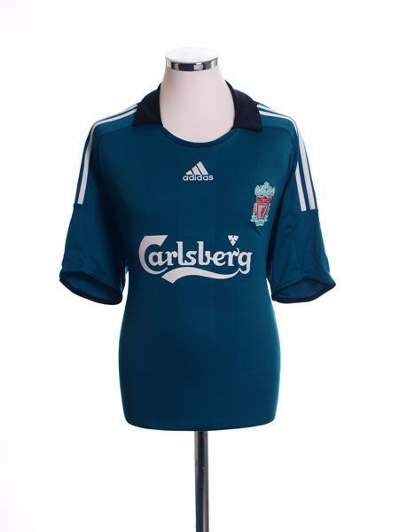 2008-09 Liverpool Third Shirt *Mint* M