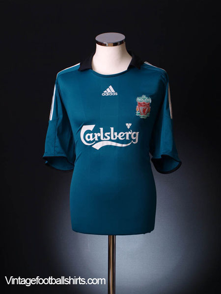 2008-09 Liverpool Third Shirt L