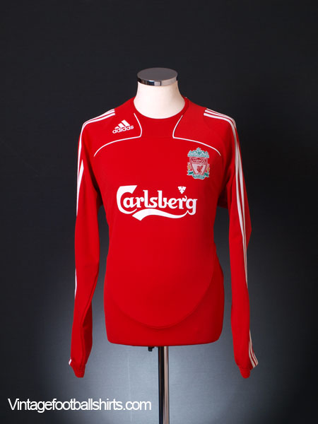 2008-09 Liverpool Training Jumper L/S M
