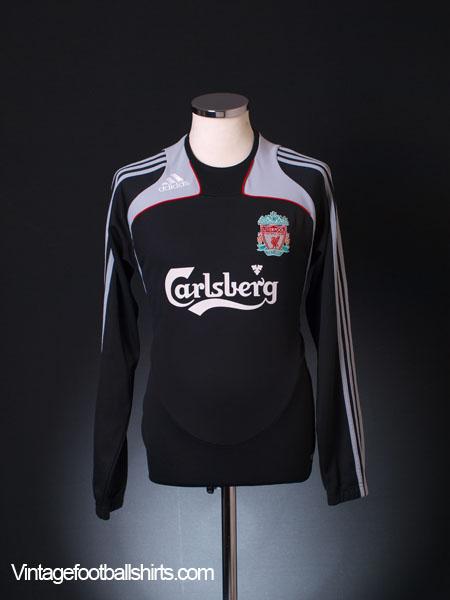 2008-09 Liverpool Training Shirt L/S S