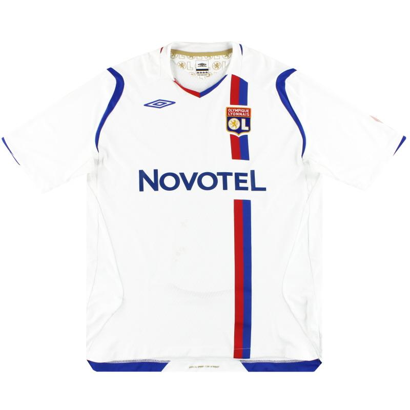 2008-09 Lyon Umbro Home Shirt XL.Boys