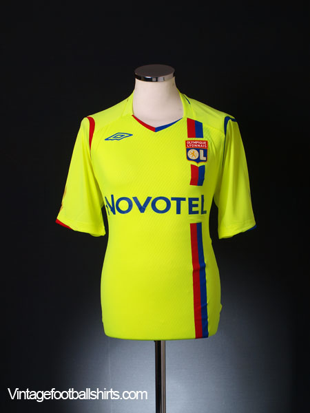2008-09 Lyon European Shirt L