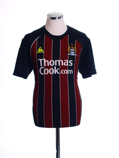2008-09 Manchester City Away Shirt XL