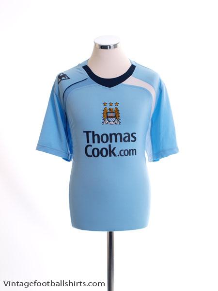 2008-09 Manchester City Home Shirt L