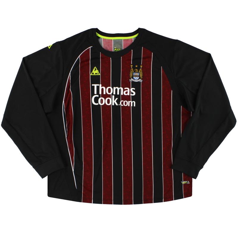 2008-09 Manchester City Le Coq Sportif Away Shirt L/S XXXL