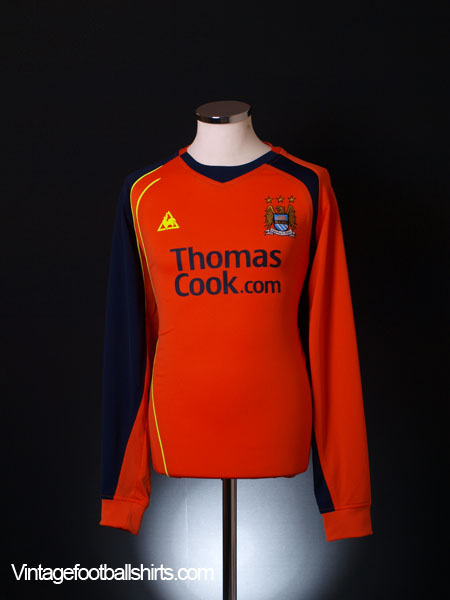 2008-09 Manchester City Third Shirt L/S L