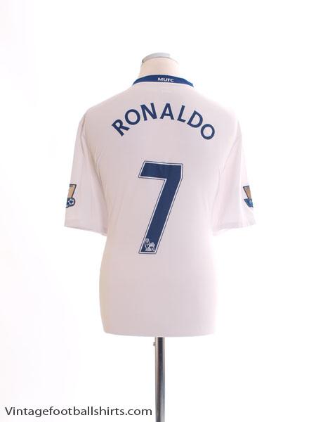 2008-09 Manchester United Away Shirt Ronaldo #7 *BNWT* XL - 287611-105
