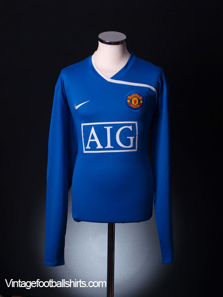 free shipping 6b3f6 3330d 2008-09 Manchester United Goalkeeper Shirt XL.Boys for sale
