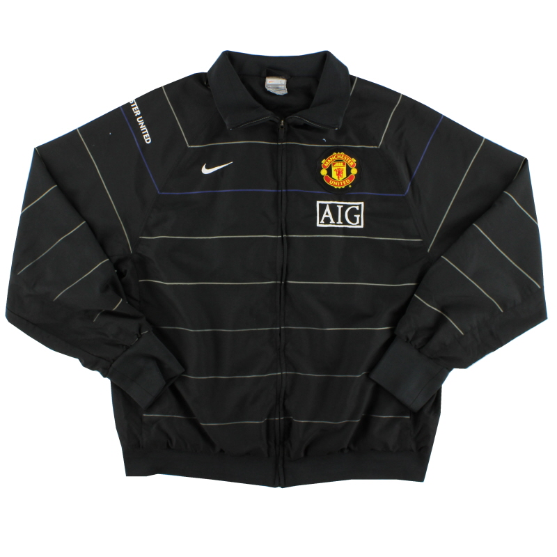 2008-09 Manchester United Nike Woven Jacket L - 287623-010
