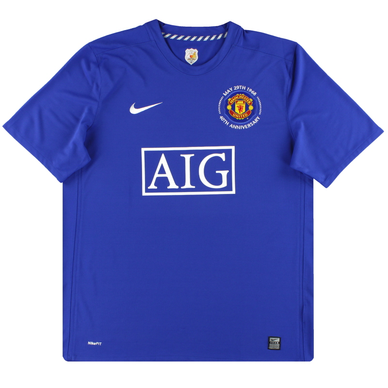 2008-09 Manchester United Nike Third Shirt L - 287634-403