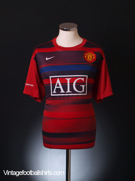 promo code 6dbd9 5370c 2008-09 Manchester United Nike Training Shirt XL for sale