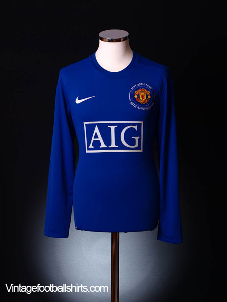 2008-09 Manchester United Third Shirt L/S XL