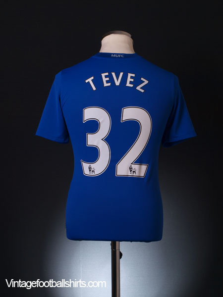2008-09 Manchester United Third Shirt Tevez #32 XL