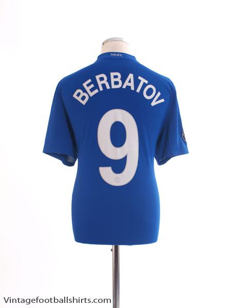 2008-09 Manchester United Third Shirt Berbatov #9 L - 287615-403