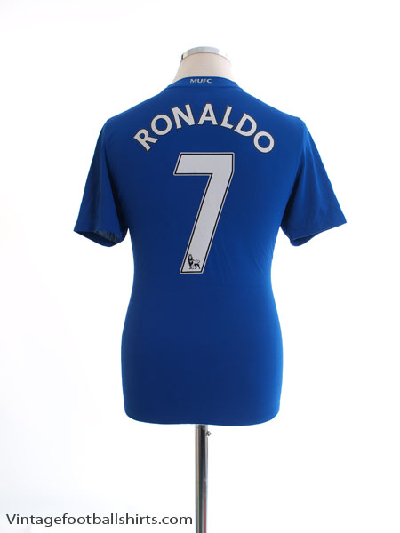 buy online 0ecd5 f5886 2008-09 Manchester United Third Shirt Ronaldo #7 XL.Boys for ...