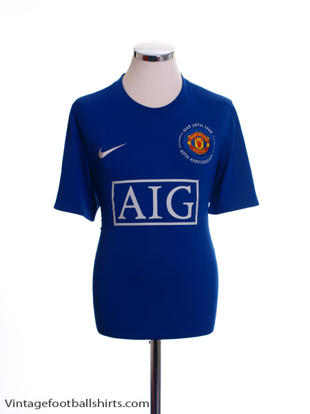 2008-09 Manchester United Third Shirt XL.Boys - 287634-403