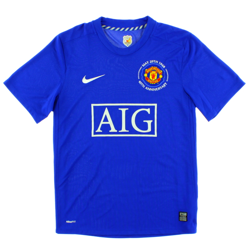 2008-09 Manchester United Third Shirt XXL - 287634-403