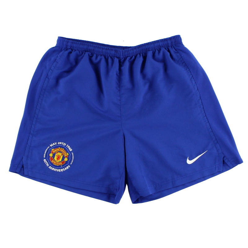 2008-09 Manchester United Third Shorts *Mint* XL.Boys - 287633-403