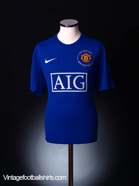 huge selection of 327f3 379e4 2008-09 Manchester United Third Shirt M for sale