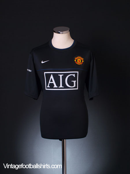 2008-09 Manchester United Training Shirt L