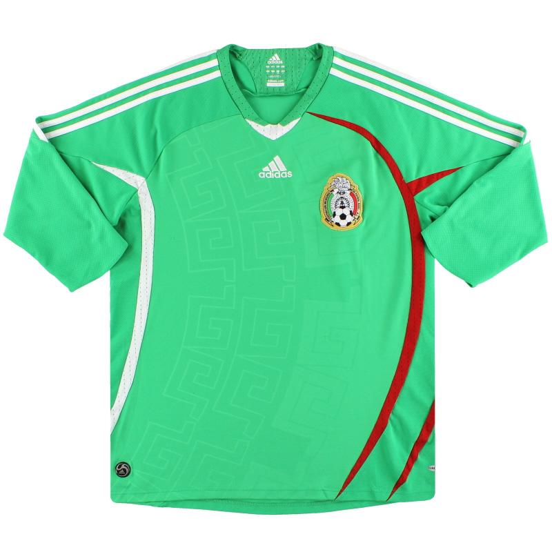 2008-09 Mexico adidas Home Shirt XL