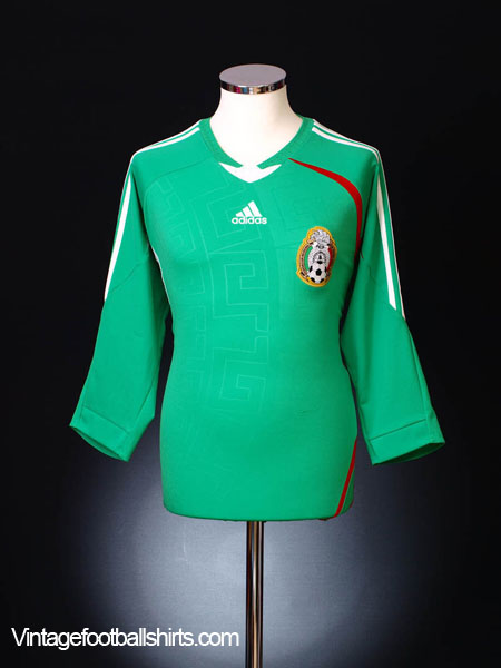2008-09 Mexico Home Shirt M