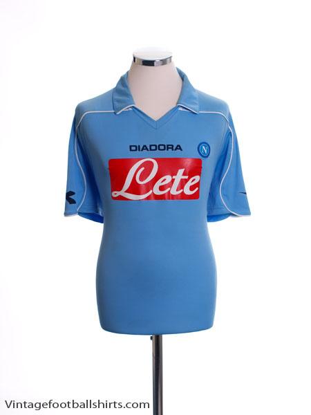 2008-09 Napoli Home Shirt M