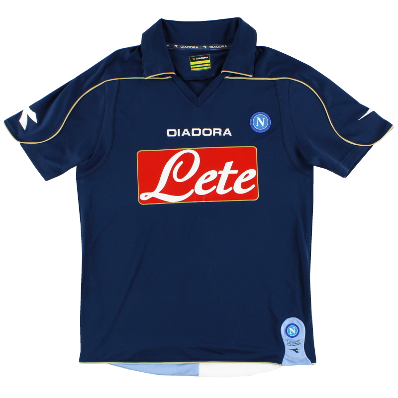 2008-09 Napoli Third Shirt L