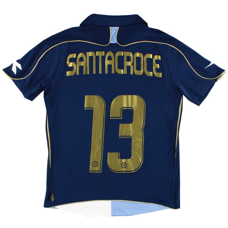 2008-09 Napoli Third Shirt Santacroce #13 XS
