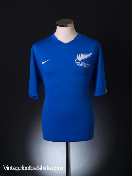 2008-09 New Zealand Away Shirt L