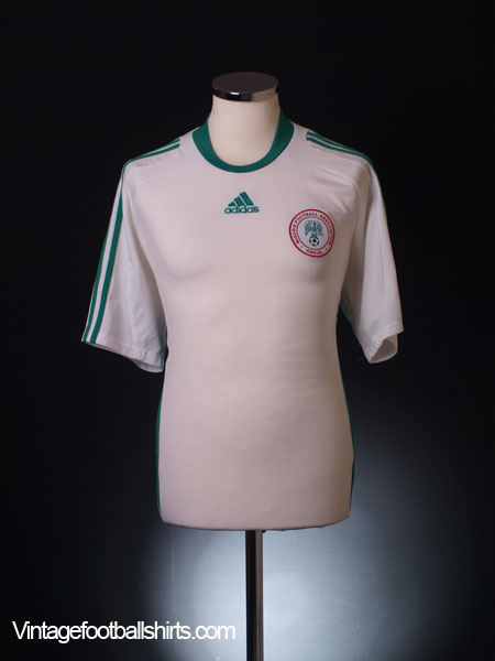 2008-09 Nigeria Away Shirt L