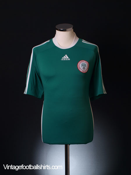 2008-09 Nigeria Home Shirt L