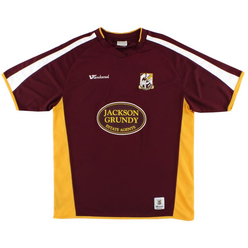 2008-09 Northampton Home Shirt *Mint* L