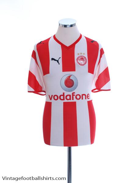 2008-09 Olympiakos Home Shirt M - 734623