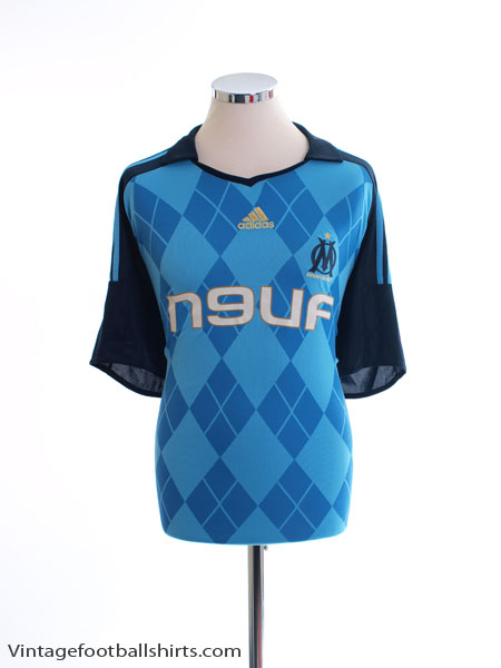 2008-09 Olympique Marseille Away Shirt XL
