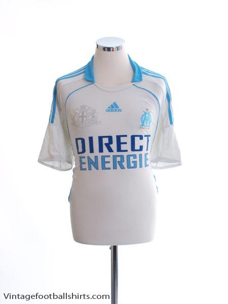 2008-09 Olympique Marseille Home Shirt L