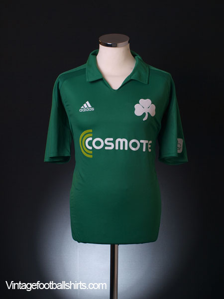 2008-09 Panathinaikos Centenary Home Shirt XL