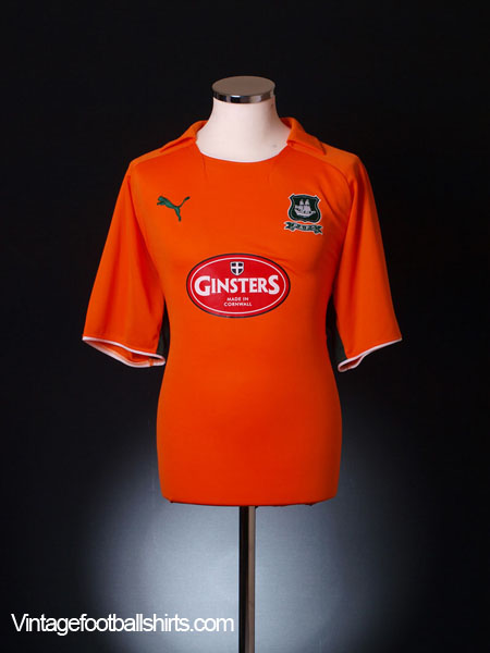 2008-09 Plymouth Away Shirt L