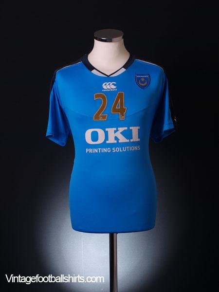 2008-09 Portsmouth Worn Training Shirt #24 L