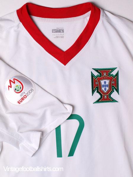 finest selection d9b38 16142 2008-09 Portugal Away Shirt Ronaldo #17 L for sale