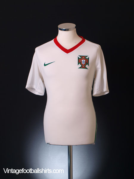 2008-09 Portugal Away Shirt XL.Boys