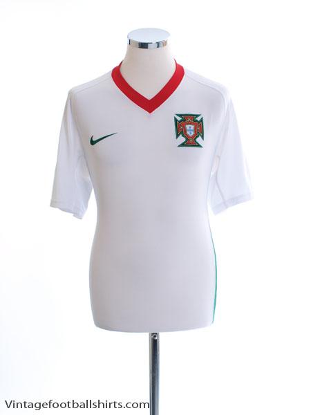 2008-09 Portugal Away Shirt L - 259181-105
