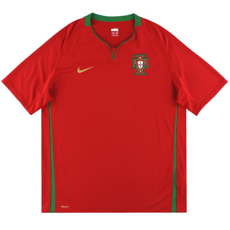 2008-09 Portugal Nike Home Shirt  XL - 265759-611