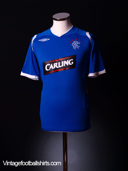 2008-09 Rangers Home Shirt L