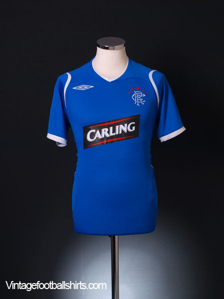 2008-09 Rangers Home Shirt S