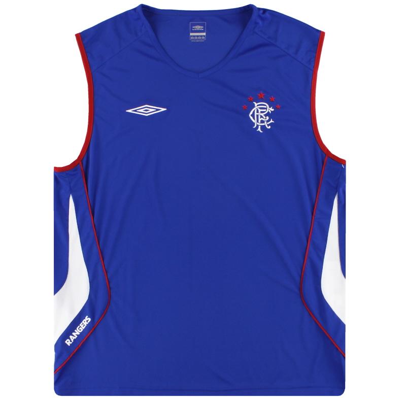 2008-09 Rangers Nike Training Vest *Mint* XXL