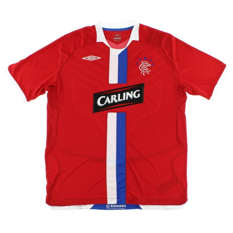 2008-09 Rangers Third Shirt *Mint* L - 32432251