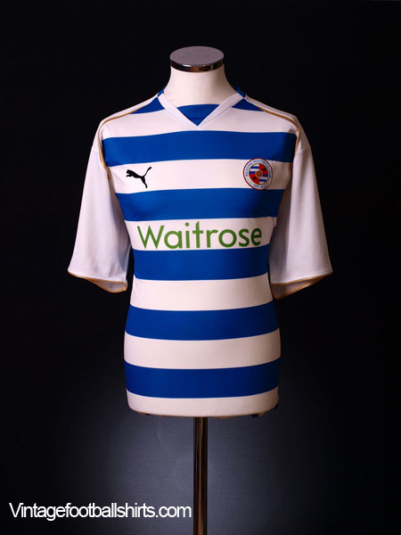 2008-09 Reading Home Shirt M