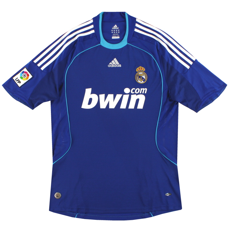 2008-09 Real Madrid adidas Away Shirt M - 698110