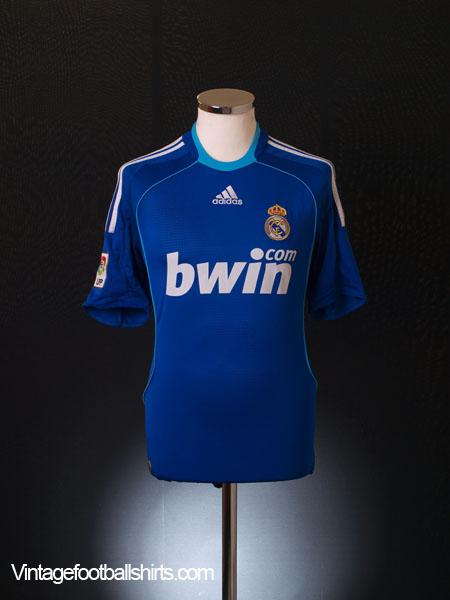 2008-09 Real Madrid Away Shirt M